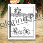 FREE Deep Waters Coloring Page